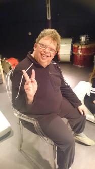 Johan: Onze muzikant op de drum & piano